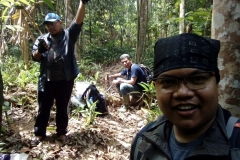 BIOME Team in Balikpapan Botanical Garden